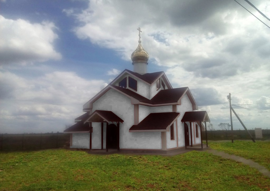 Будущий храм в Форносово